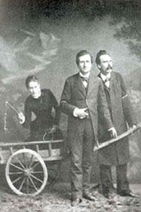 Lou Andreas-Salomé, Paul Reé e Friedrich Nietzsche