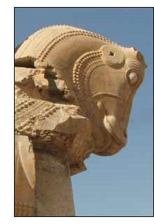 Persépolis é a maior atração turística do Irã