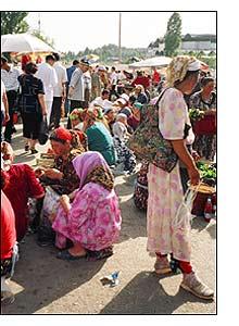 As cores do mercado Tchorsu