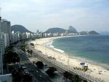 Praia de Copacabana, a partir do Posto 6