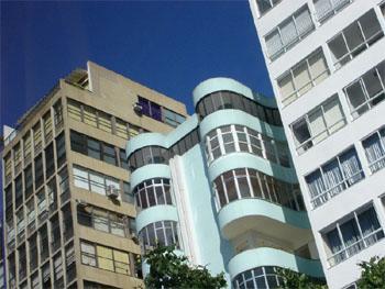 Exemplos da arquitetura de Copacabana